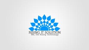 LOGO, Rising IT Solution, Jayesh Shrimali